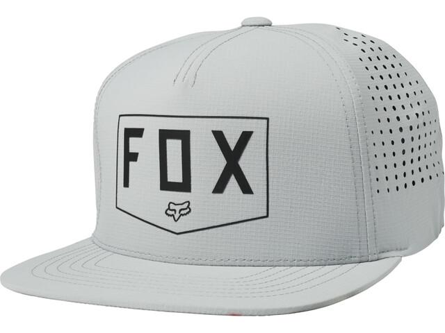 Fox Shielded Snapback Hue Herrer, grey